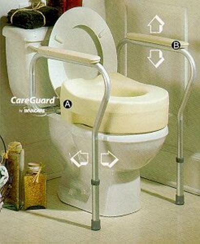 Brilliant Invacare Toilet Safety Frame Independent Living Centres Pabps2019 Chair Design Images Pabps2019Com