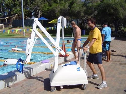 Pal Portable Aquatic Lift Independent Living Centres Australia