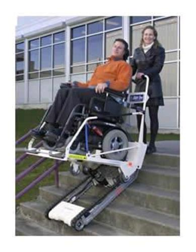 Garaventa Super Trac Portable Stair Climber Independent Living Centres Australia