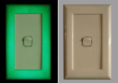glow in the dark lighting. Visionglow Glow In The Dark Light Switch Surround Glow Dark Lighting