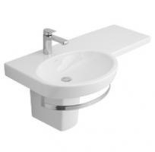 Villeroy And Boch Range Of Wall Mounted Accessible Basins