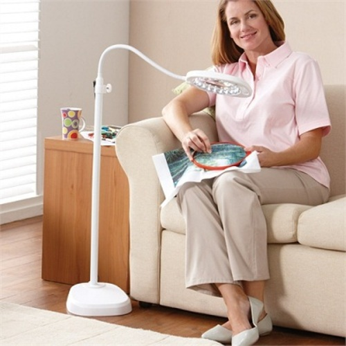 Led magnifying floor lamp independent living centres australia led magnifying floor lamp aloadofball Images