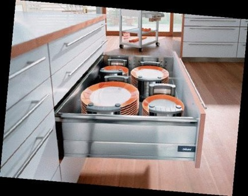 Blum Pull Out Storage Units - Independent Living Centres