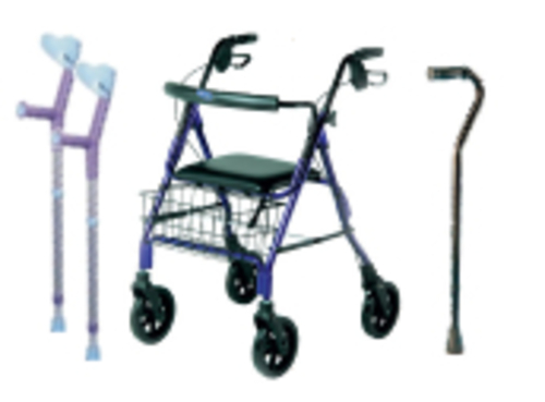 Walking and Mobility Aids for hire - Independent Living Centres ...