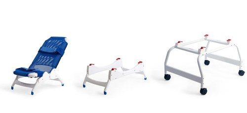 ... Rifton Blue Wave Bath Chair System Alone And With Stands