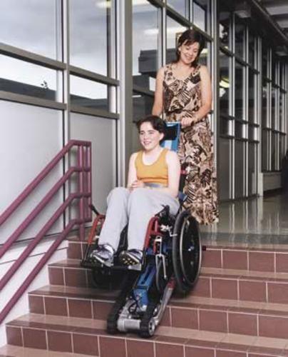 Garaventa Stair Trac Wheelchair Lift Independent