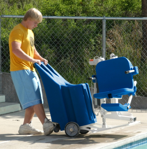 Aqua Creek Portable Pro Pool Lift Independent Living