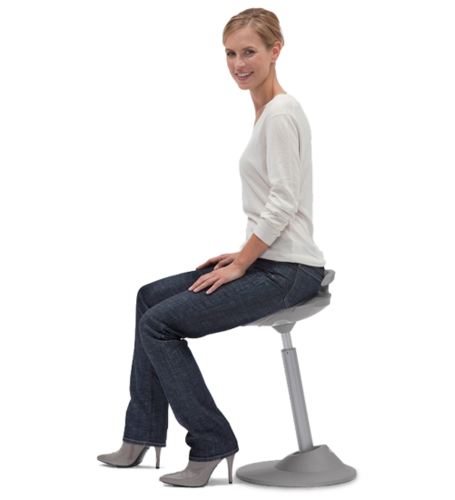 Aeris Muvman Active Sit Stand Stool Independent Living