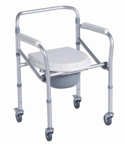 Commode / Toilet Seat Raiser on Wheels - Independent Living Centres ...