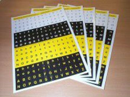 Inclusive Technology Keyboard Stickers
