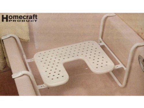 Homecraft Farnham Metal Bath Seat With Cut Away - Independent Living ...