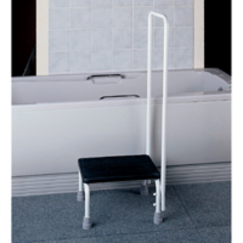 Auscare Step Stool With Hand Rail Independent Living