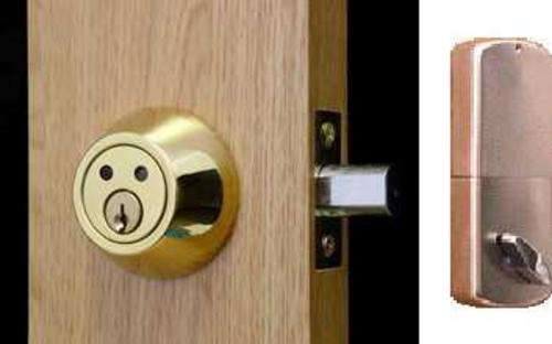 Auto Lock Keyless Door Entry System Independent Living Centres