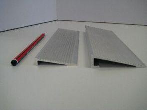 Aluminium ramp Edging