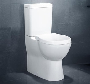 Caroma Opal II Height Toilet Suite.