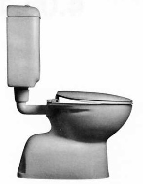 Trident Toilet Pan.