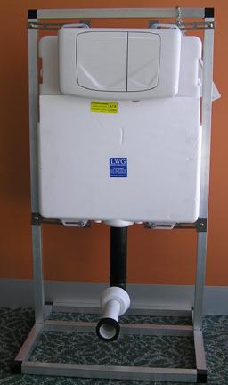 Wall Dual Flushing Cistern.