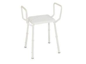 K-Care adjustable height shower stool with arms - KA222ZA/AA