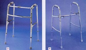 Care-Quip Folding Walking Frame