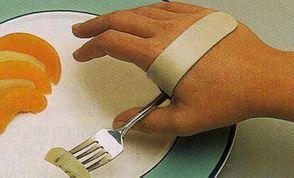 ADL hand clip