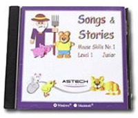 PR12630 Songs and Stories Mouse Skills Software