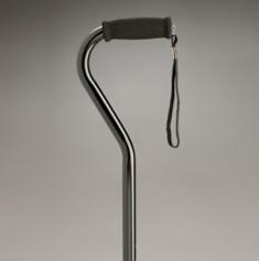 Care Quip Swan Neck Adjustable Walking Stick