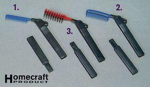 Folding Brush & Comb