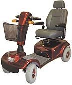 Four wheeled model