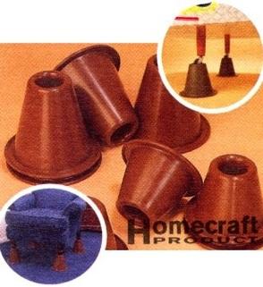 PR10331 Homecraft Stackable Cone Chair Raisers