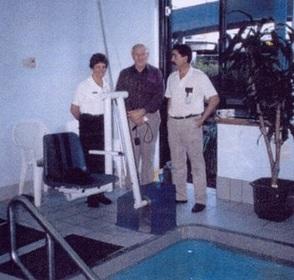 PR02755 Wymo Pool Access Hoist
