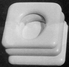 Standard square padded lid