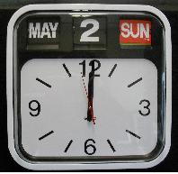 Ingrams AD620 Calendar Clock