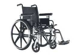 PR16857 Sunrise Medical Breezy Ultra 4 Manual Wheelchair