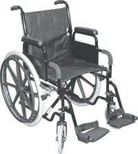 Merits M472 Heavy Duty Manual Wheelchair