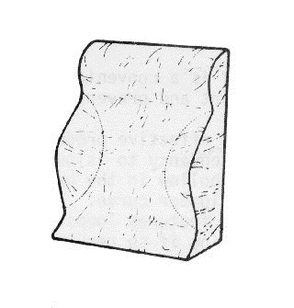 PR02446 Therapeutic Pillow Total Spinal Support