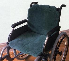 PR06297 Shear Comfort Cushion It Sheepskin Wheelchair Cover