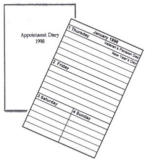 Large Print Appointment Diary