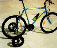 PR06123 Stabiliser Wheels for Bicycles