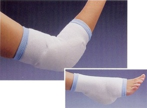 Rolyan Elbow and Heel Protectors With Foam Padding