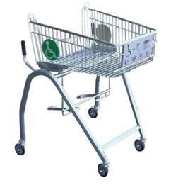 PR03186 Wheelchair accessible shopping trolley