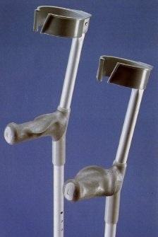 PR01997 Cooper Double Adjustable Elbow Crutches