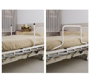 K-Care Bed Pole - shown as bed poles and as safety rail