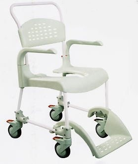 Etac Clean Attendant Propelled Shower Commode