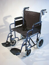 AusCare Shopper 12  Extra Wide Wheelchair