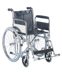 PR02494 K-Care Folding Wheelchair W28