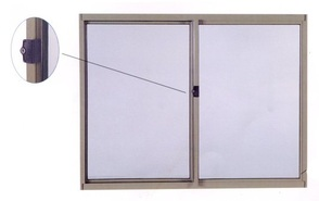 Sliding Windows With Sill Height Locks