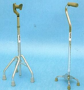 Auscare Bronze Low Profile Deluxe Quad Canes