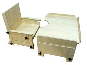 PR00652 TAD Rawson Height Adjustable Chair And Table