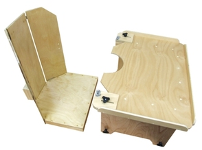 PR00653 TAD Kangaroo Floor Sitting Chair And Table