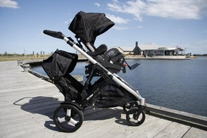Spex Discovery Seating System and Buggy - In-Line Double Stroller